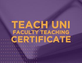 TEACH UNI Faculty Teaching Certificate